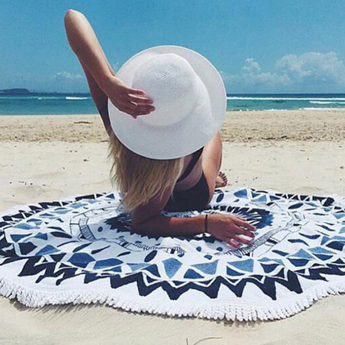 Summer Cotton Beach Towel