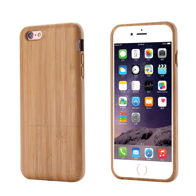 Natural Wood Grain Case for iPhone 6/ 6s/ 6 Plus/ 6s Plus