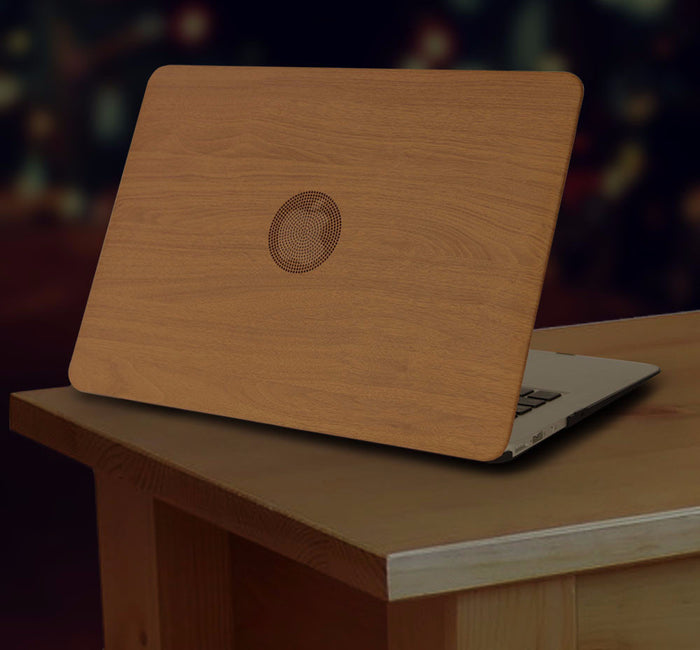 Macbook Pro/Air Wood Grain Case