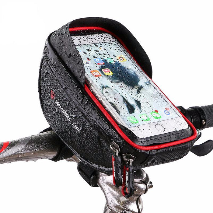 Waterproof Smartphone Holder & Pouch for Bike Handlebar