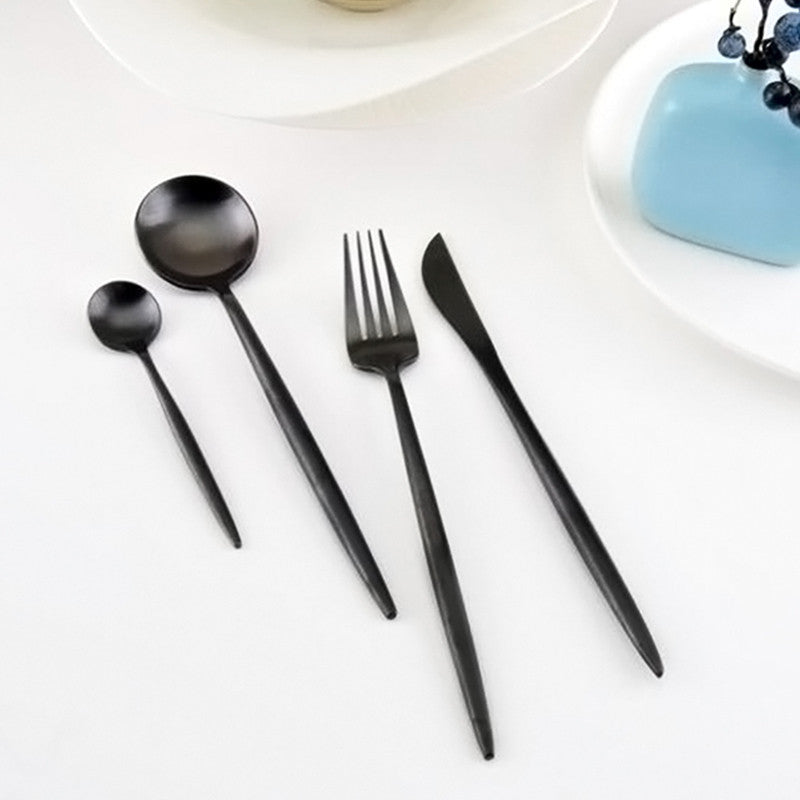 Stainless Steel Cutlery Set 4 Pieces