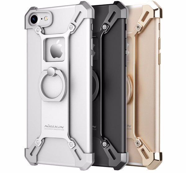 Made of tough metal, the case will surely protect your iPhone 7 and the practical finger ring will offer better grip and comfort.