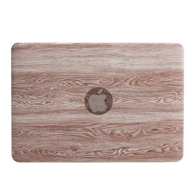 Wood Grain Case For Macbook Pro/Air