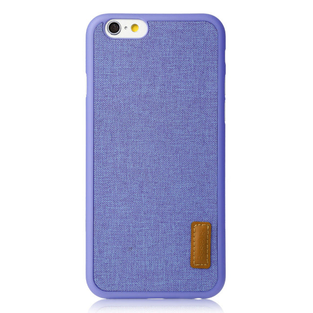 Protective Woven Cloth iPhone Case