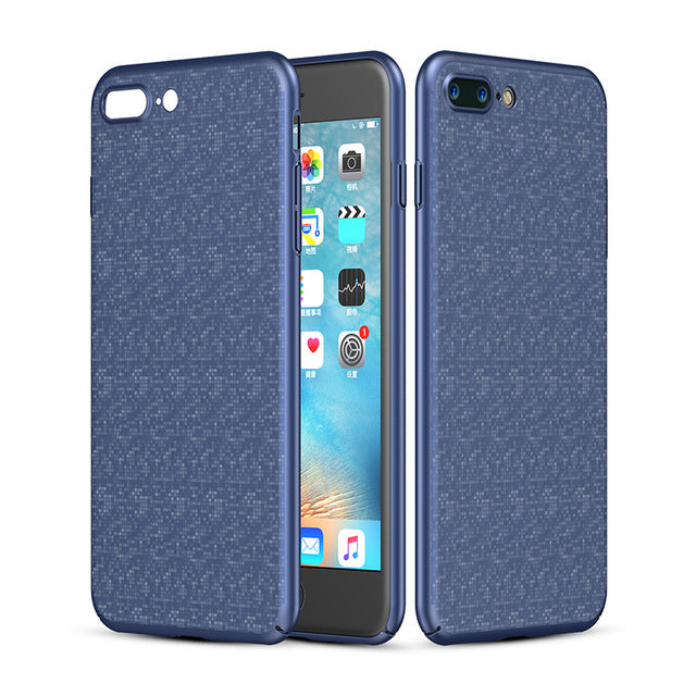 Luxury Plaid Hard PC Case for iPhone 7 7 Plus 8 8 Plus