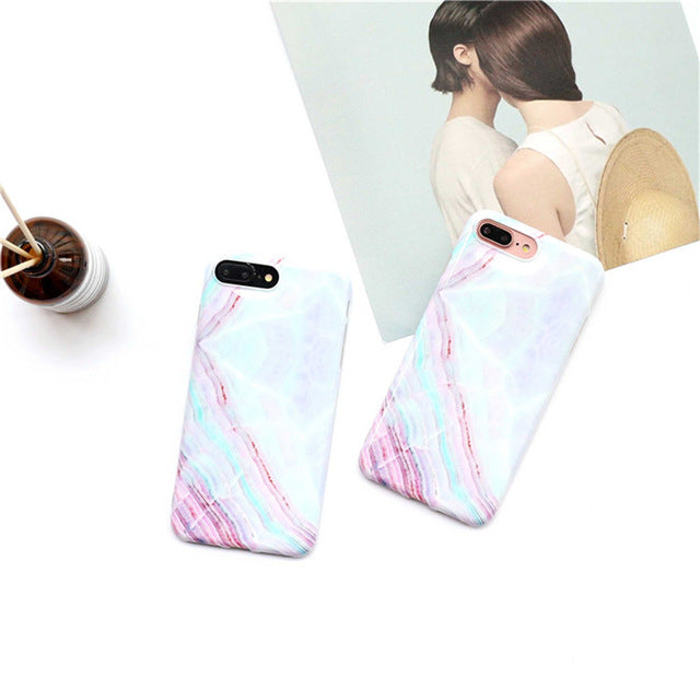 High Quality Marble Case for iPhone 6 6s 6 Plus 6s Plus 7 7 Plus 8 8 Plus
