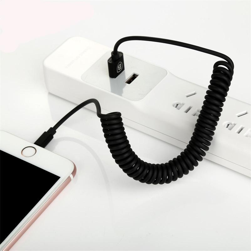 Flexible USB Charging Cable For iPhone/iPad