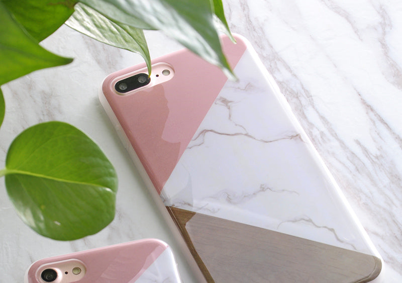 SoCouple Stone Painted iPhone Case