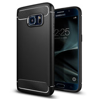 Soft Carbon Fiber Case for Samsung Galaxy S7/ S7 Edge