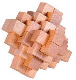 3D Wooden Brain Teasers
