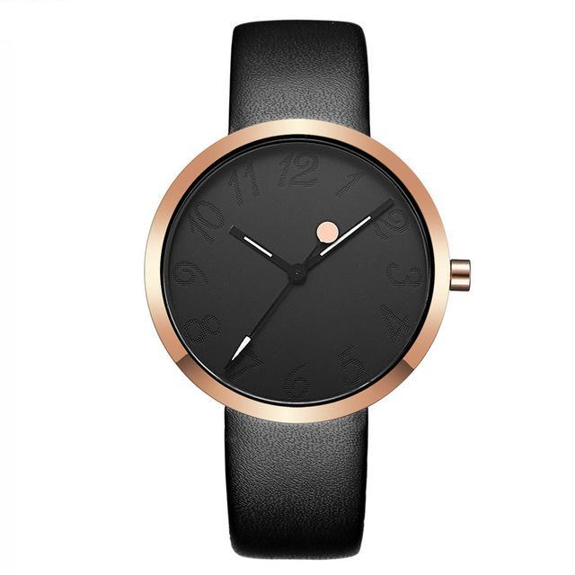 Women Watch with Leather Strap