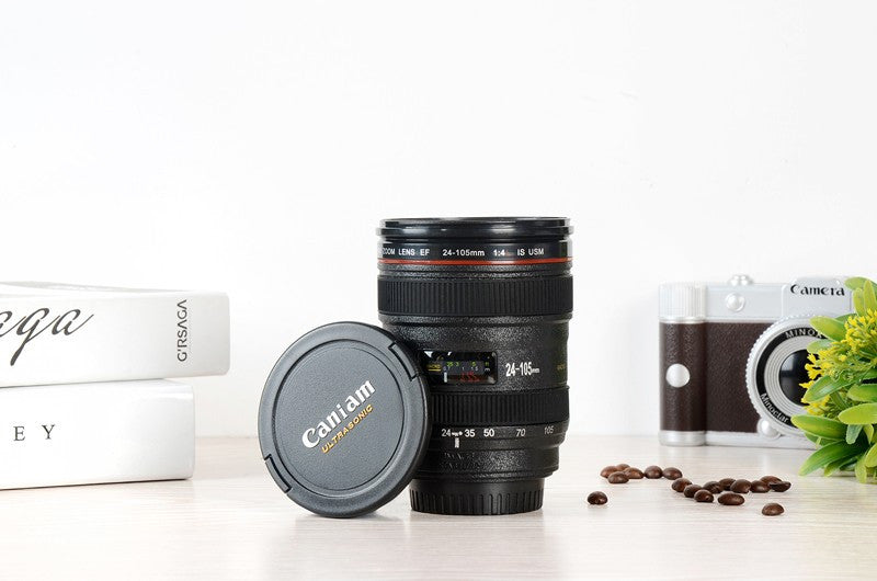 SLR Camera Lens Cup 24-105 mm 1:1 Scale