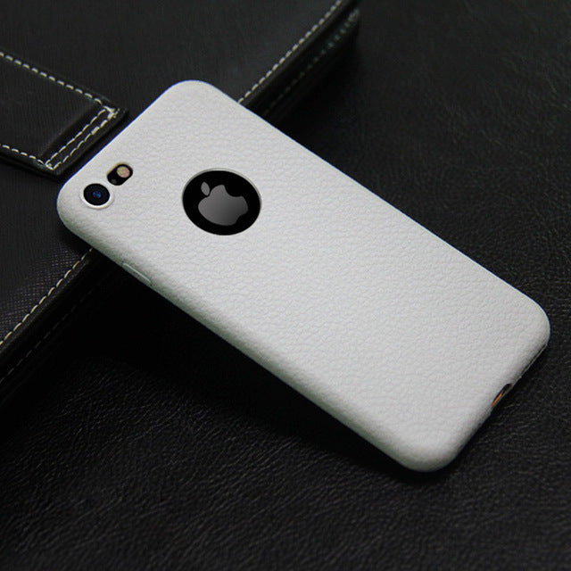 Ultra thin Soft TPU Back Cover For iPhone