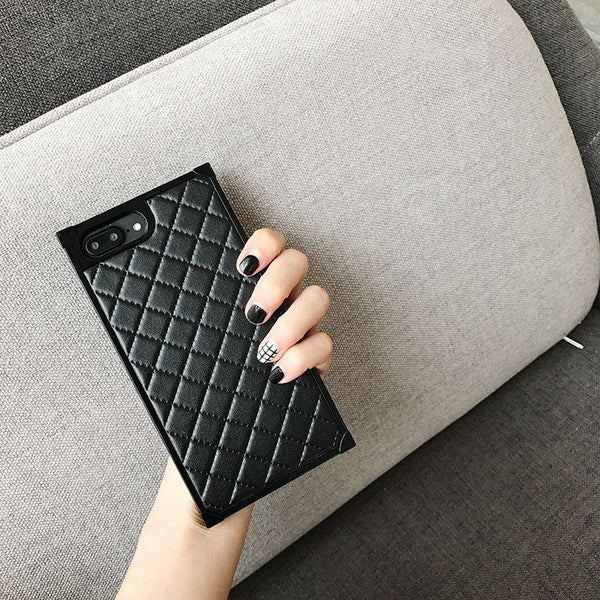 Luxury Soft Eco-Friendly Leather iPhone Case