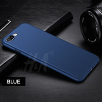 Luxury Matte Ultra Thin Silicone Case For iPhone 7 7 Plus 8 8 Plus