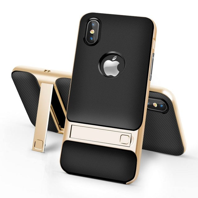 promo code 07583 3556a Ultra Thin iPhone X Case with Kickstand