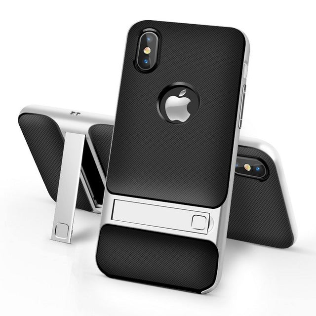 Ultra Thin iPhone X Case with Kickstand