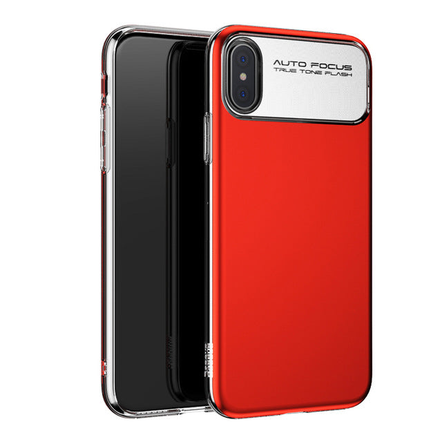 Luxury Soft Silicone Case For iPhone X