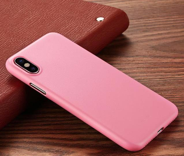 Luxury Ultra Thin Matte Case For iPhone X