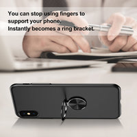 iPhone X Finger Ring Case