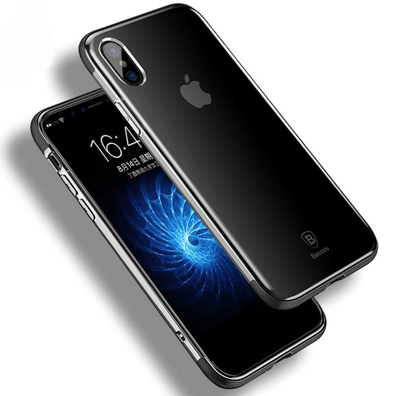 Shockproof Armor Silicone Case For iPhone X