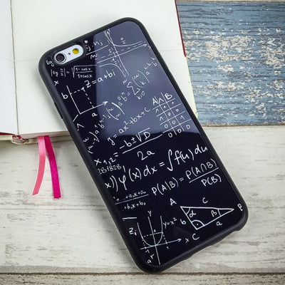 Mathematics Silicone Case for iPhone