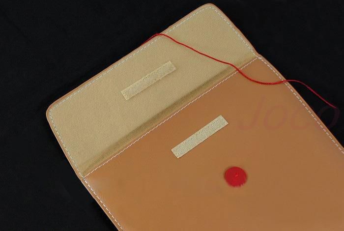 PU Leather Laptop Envelope Case For Macbook Pro 13