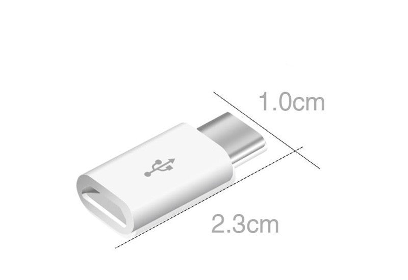 Micro USB to USB C Adapter