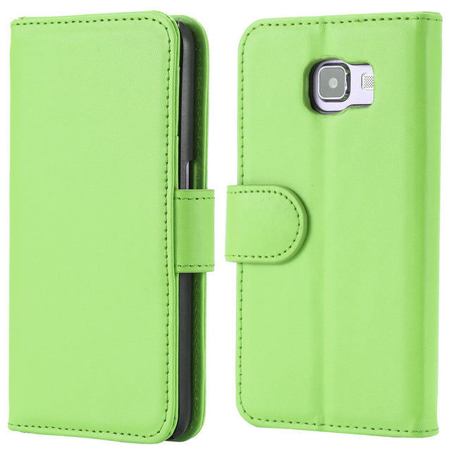 Wallet Leather Flip Case for Samsung