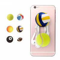 Sports Pop-Out Phone Finger Holder & Stand