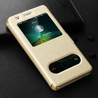 Flip Leather Huawei Case