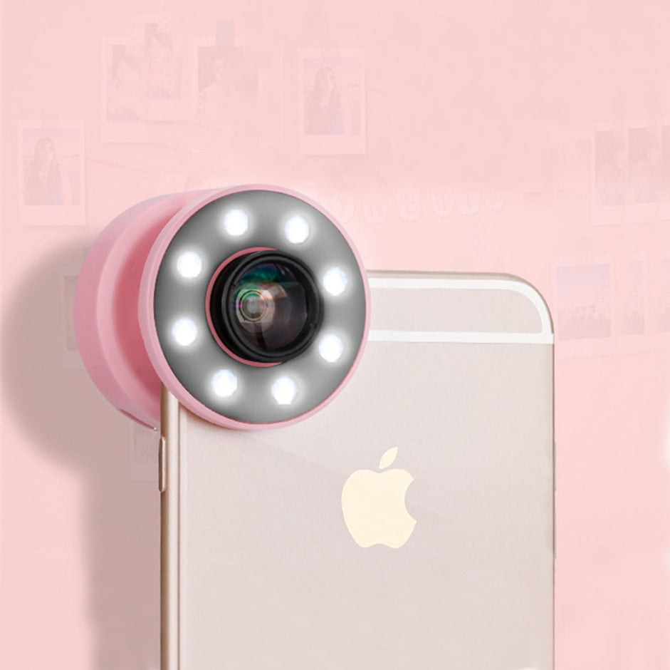 Usb LED Light Selfie Ring for iPhone
