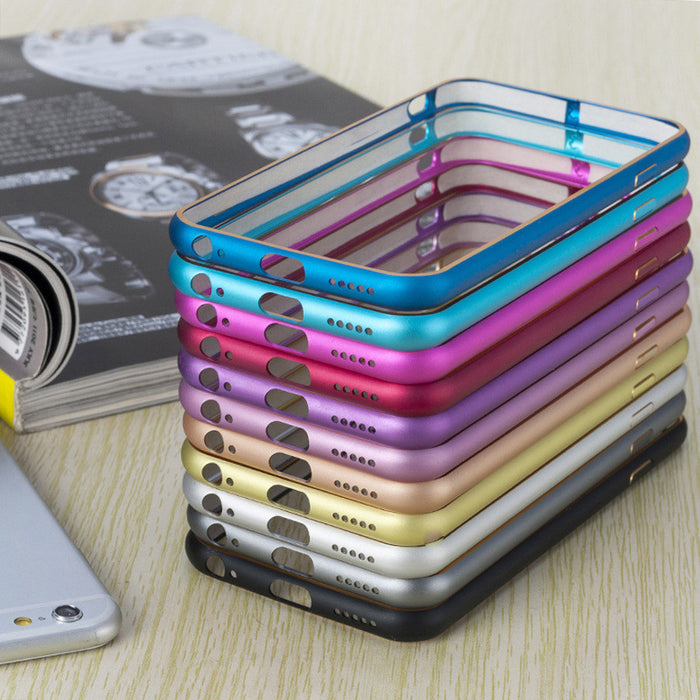 Slick Aluminum iPhone Bumper Frame