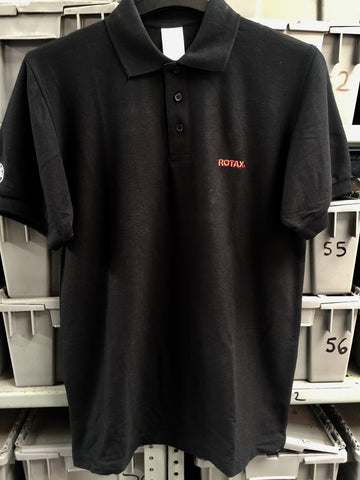 Rotax Polo T-Shirt - Black