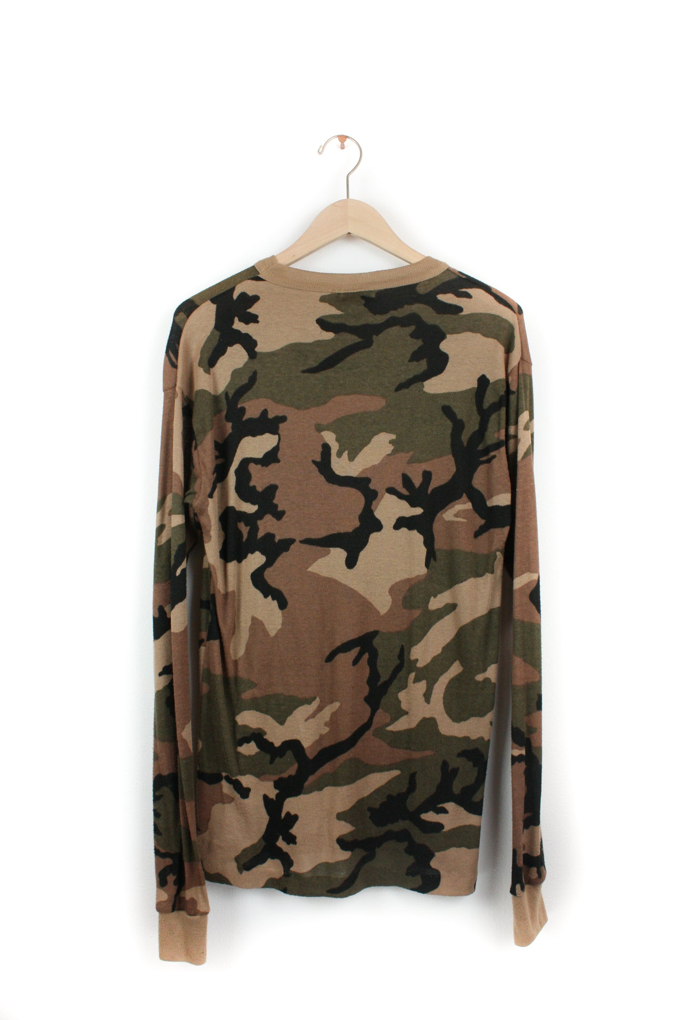 ARMY THERMAL KNIT LONG SLEEVE