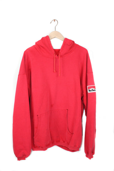 MARLBORO PATCH HOODIE (Distressed)