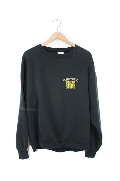CAMEL BLACK CREW NECK