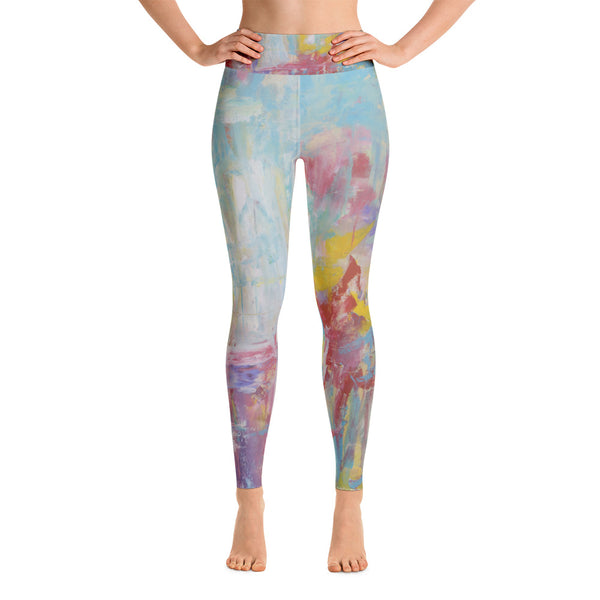Colorful and unique yoga leggings