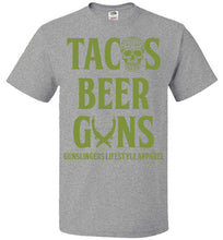 Tacos Beer and Guns-Plus