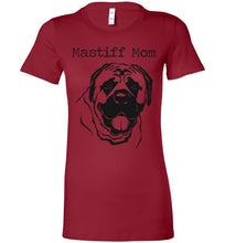 Mastiff Mom-Black