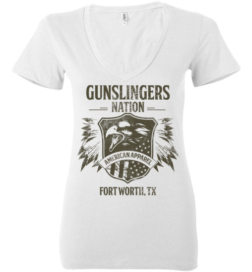 Vintage Gunslinger Eagle-V Neck