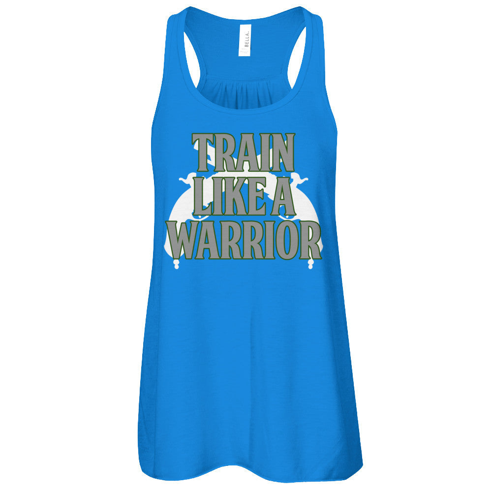 Train Like a Warrior Green-Womens Tank