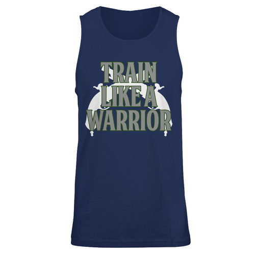 Train Like a Warrior Green-Mens Tank
