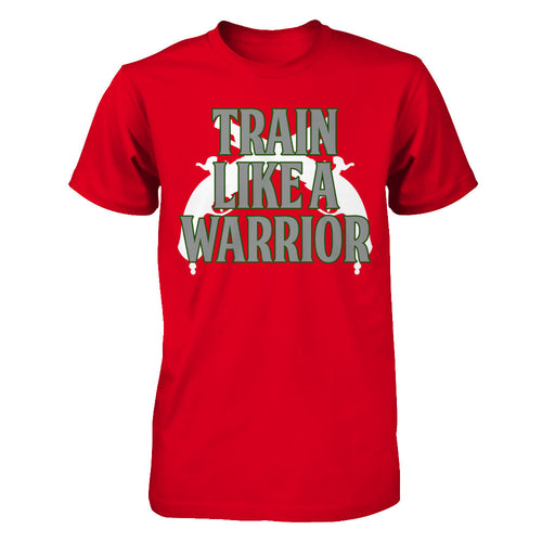 Train Like a Warrior Green-Mens