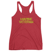Marine Veteran tank top