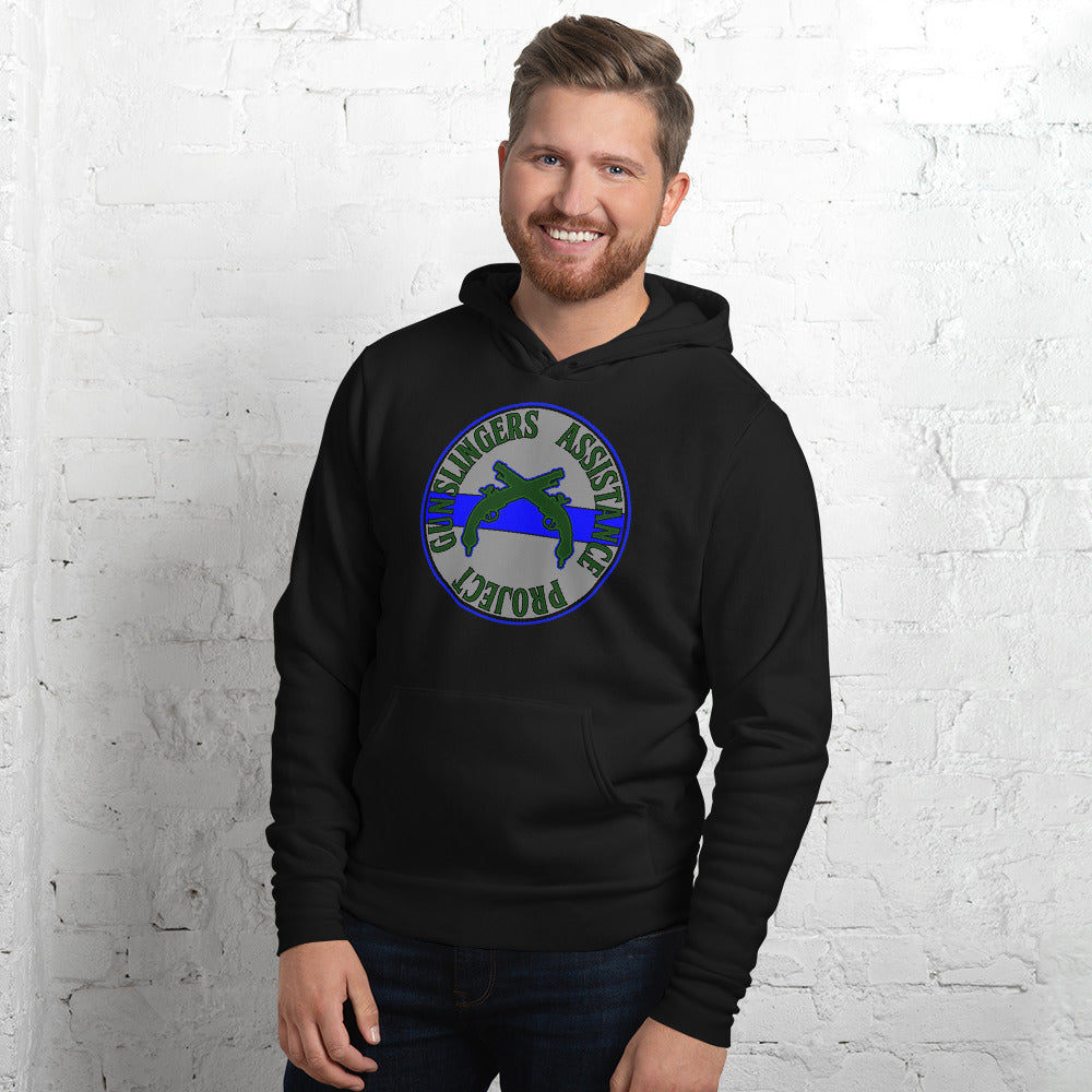 Gunslingers Assistance Project Fleece Hoodie