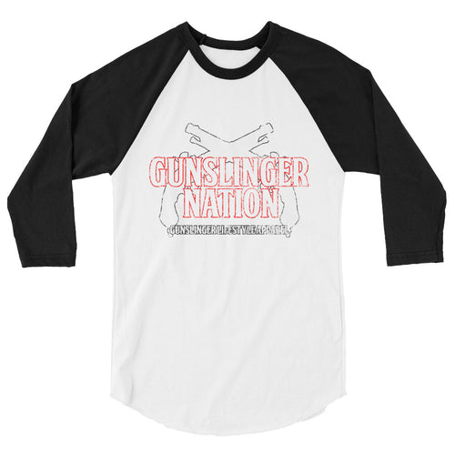 3/4 sleeve Aged Gunslinger Shirt