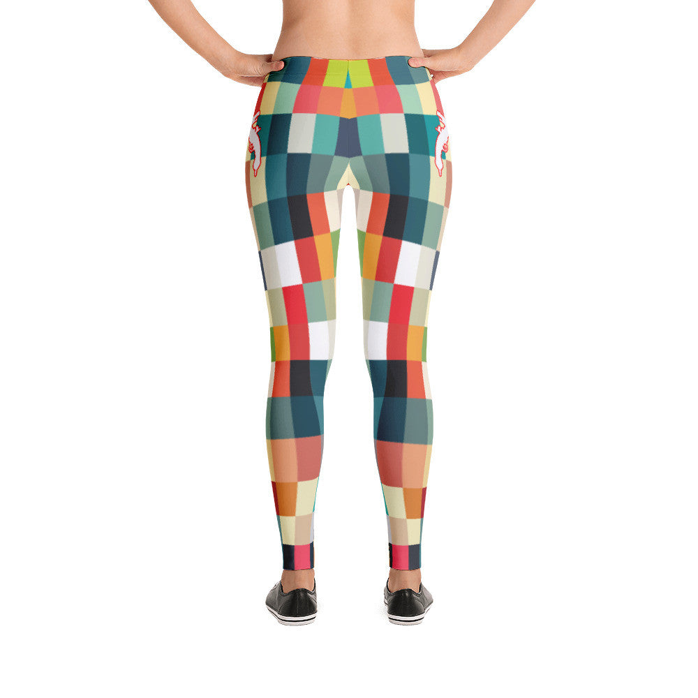 Colored Squares Leggings