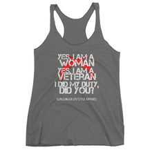 Yes, I am a Woman tank top