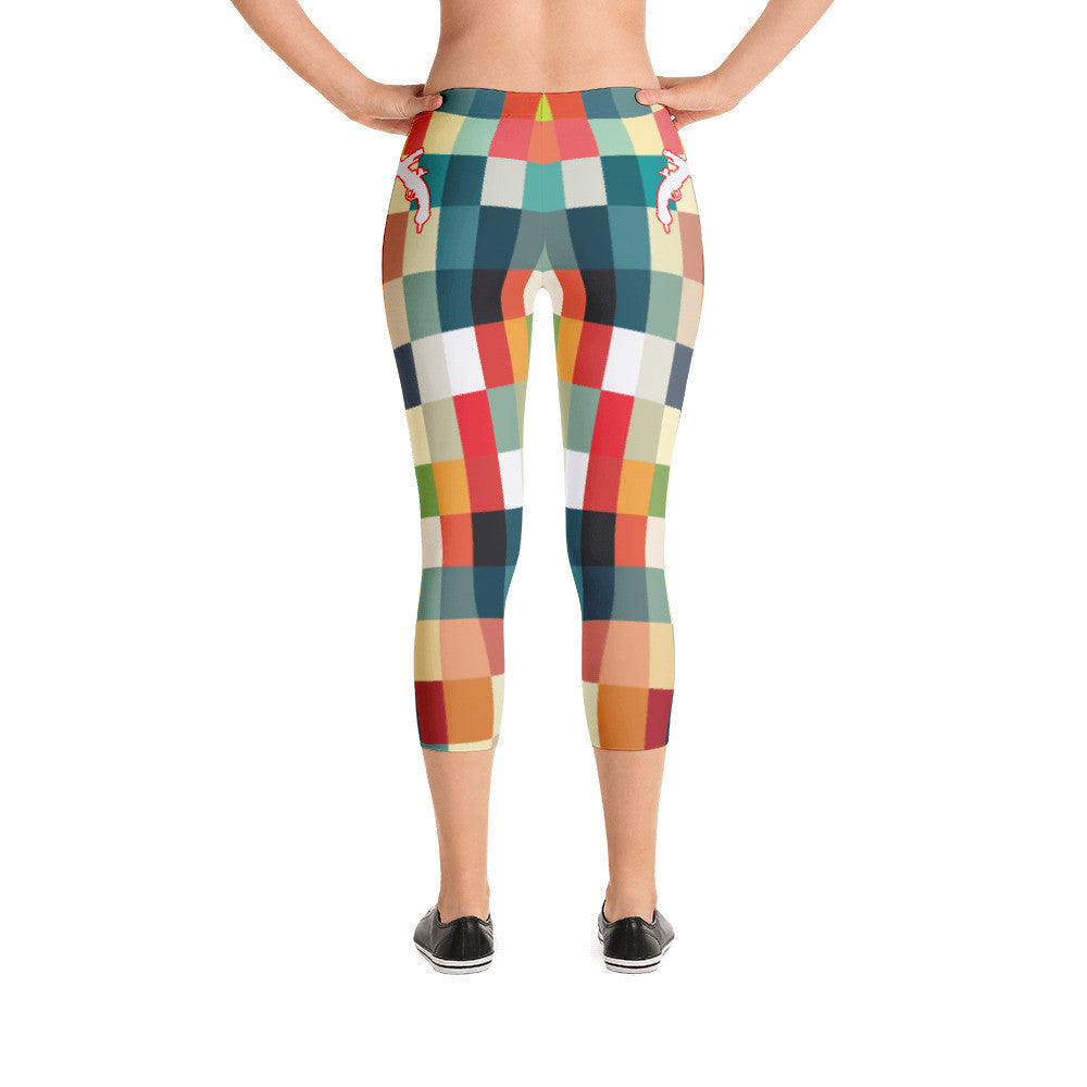 Square Capri Leggings